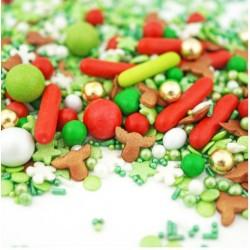 Assortiment de sprinkles - Ho Ho Ho