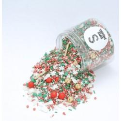 Assortiment de sprinkles - Forêt de Noël