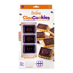 "Kit Cookie choc ""Monstres d'Halloween"""