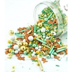 Assortiment de sprinkles - Bonhommes de pain d'épice