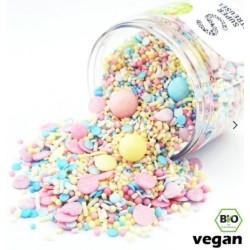 Assortiment de sprinkles - Pastel rainbow