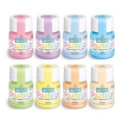 Colorants alimentaires pastels en poudre - Différentes couleurs