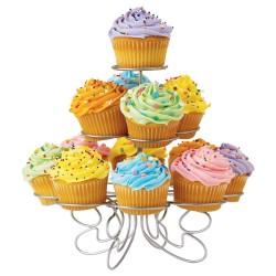 """Présentoir à Cupcakes """"Argent"""""""