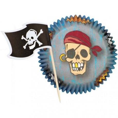 """Caissettes et Pics """"Pirate"""""""