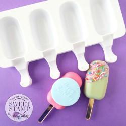 Moule en silicone magnum cake mini popsicle