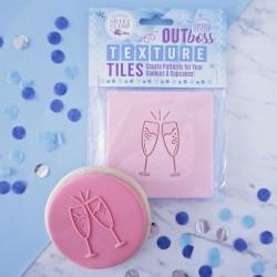 """Outboss pour pâte à sucre """"flûtes à champagne"""""""