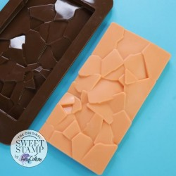 Moule silicone tablette de chocolat Eclats Sweet Stamp
