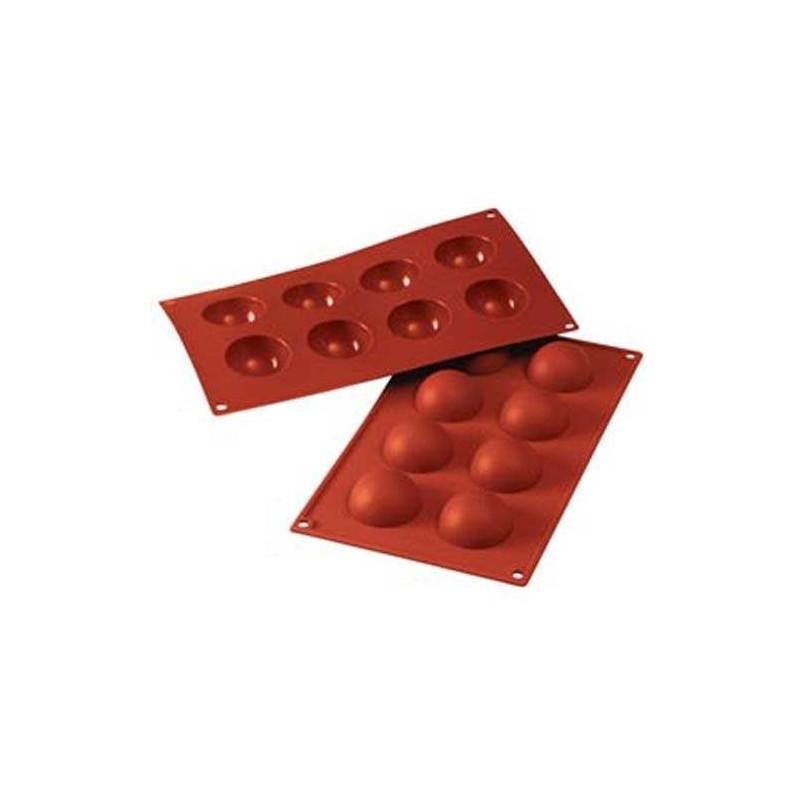 moule en silicone demi sph re g teaux et p tisseries. Black Bedroom Furniture Sets. Home Design Ideas