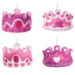 """Bougies d'anniversaire """"princesse"""""""