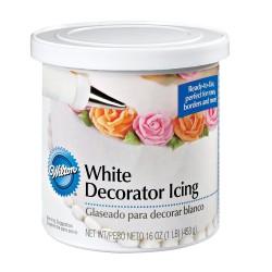 Glaçage blanc pour décoration