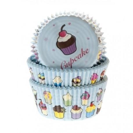 """50 caissettes """"cupcakes"""""""