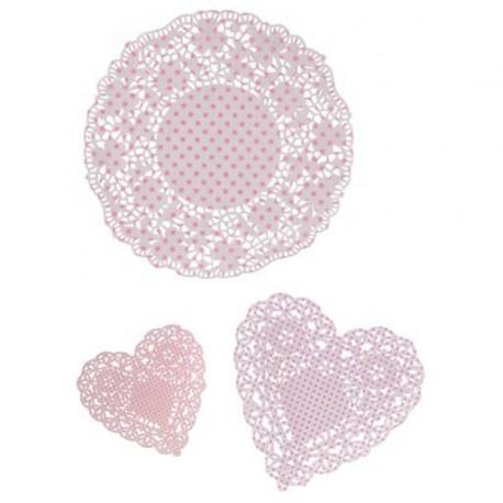 """Napperons """"Pink"""""""