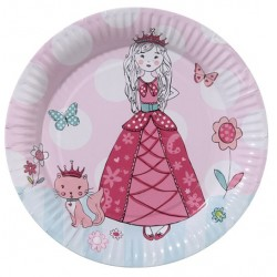 "Assiettes ""Princesse"""
