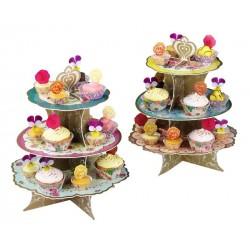 """Présentoir à cupcakes """"splendide aussi"""""""