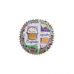 "100 mini caissettes ""cupcakes heaven"""