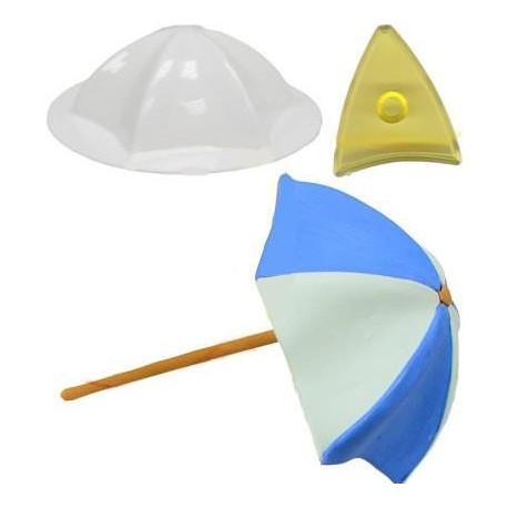 """Emporte-pièce 3D pour gumpaste """"parasol"""""""