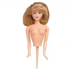 Figurine poupée blonde
