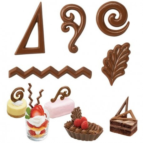 """Moule à chocolats """"décorations"""""""