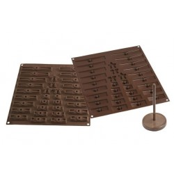 Moule 3D sapin en chocolat