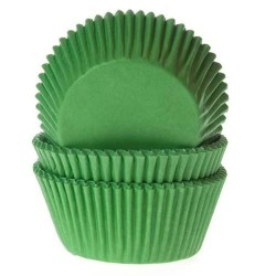 50 caissettes vert gazon