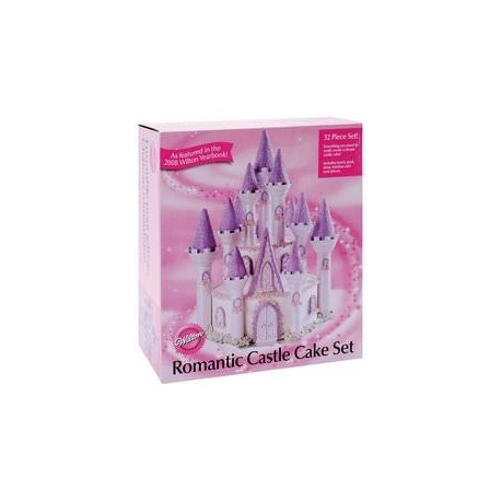 """Kit d'accessoires pour gâteau """"château"""""""