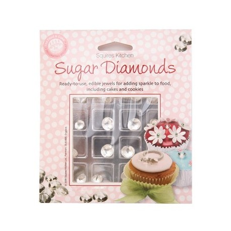 Diamants comestibles - Lot de 16