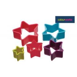 5 emporte-pièces étoiles