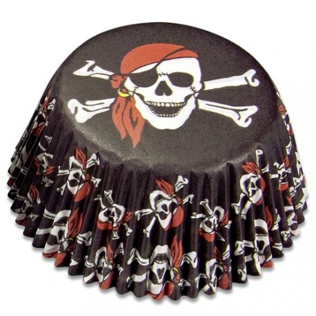 """50 caissettes standard """"pirate"""""""