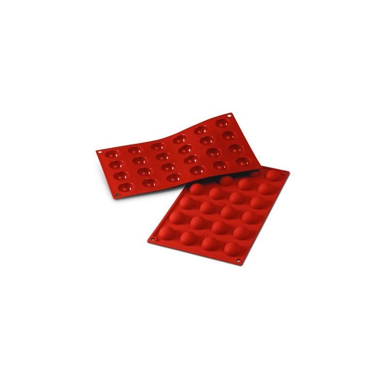 moule en silicone demi sph re 3cm bonbons chocolats. Black Bedroom Furniture Sets. Home Design Ideas