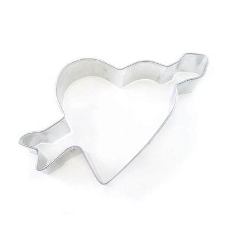 """Emporte-pièce """"coeur avec flèche"""" (6cm)"""