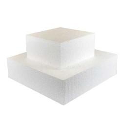 Cake dummy carré 25x25x10cm
