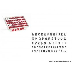 """Emporte-pièces """"alphabet"""" (64 pièces)"""