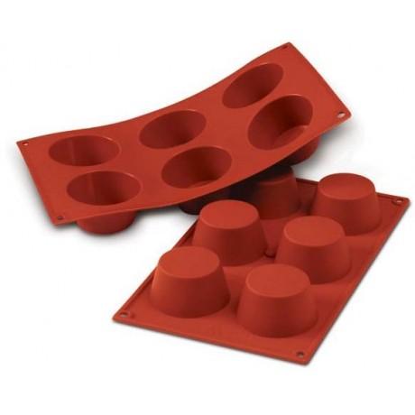 moule cupcakes et muffins en silicone silikomart. Black Bedroom Furniture Sets. Home Design Ideas