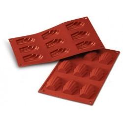 Moule à madeleines en silicone