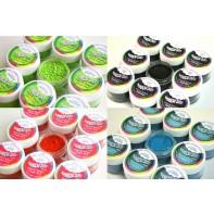 """Poudre comestible gamme """"Plain & Simple"""" - Différentes couleurs"""
