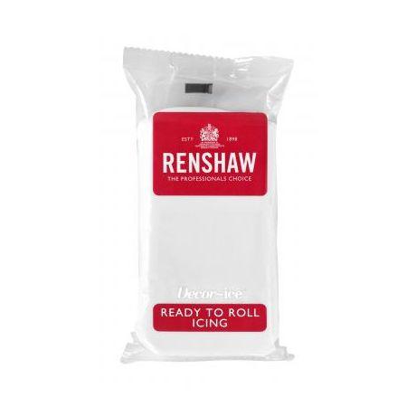 Pâte à sucre 250g Renshaw blanc