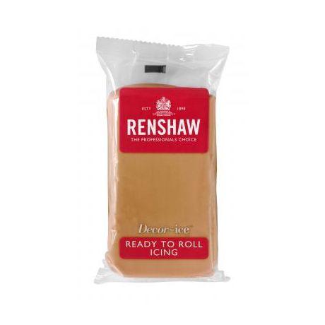 Pâte à sucre 250g Renshaw brun