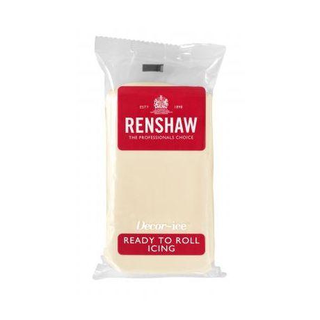Pâte à sucre 250g Renshaw creme