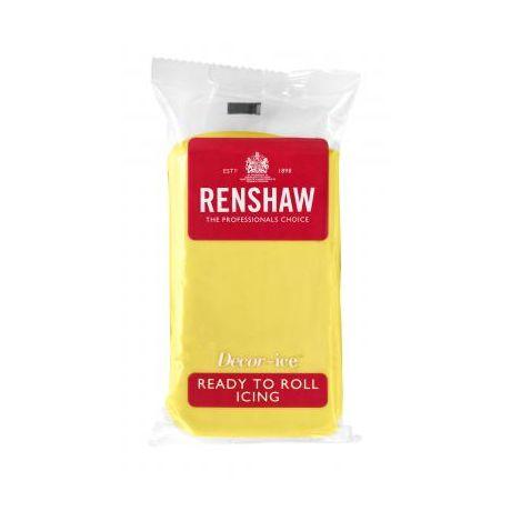 Pâte à sucre 250g Renshaw jaune pastel