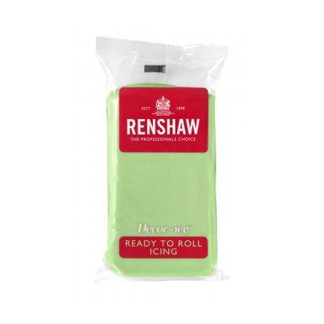 Pâte à sucre 250g Renshaw vert pastel