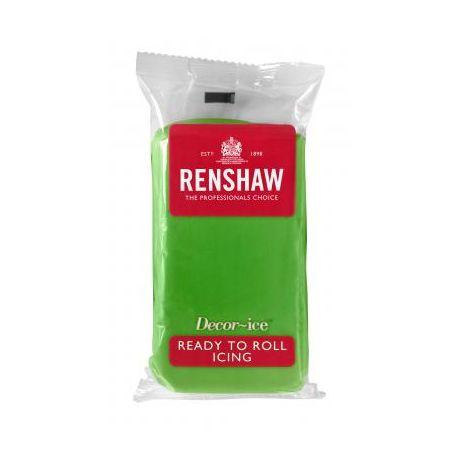 Pâte à sucre 250g Renshaw vert