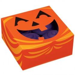 "3 boîtes à cupcakes ""Jack-O-Lantern"""