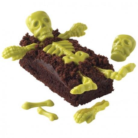 """Moule à chocolats """"squelette"""""""