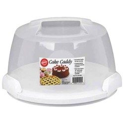 Cloche à gâteau transportable