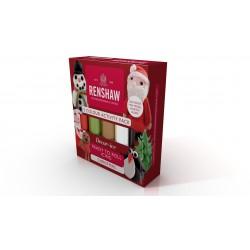 Pack de 5 pâtes à sucre - Noël