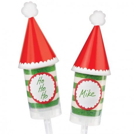 12 Décorations pour push-up sapin de Noël