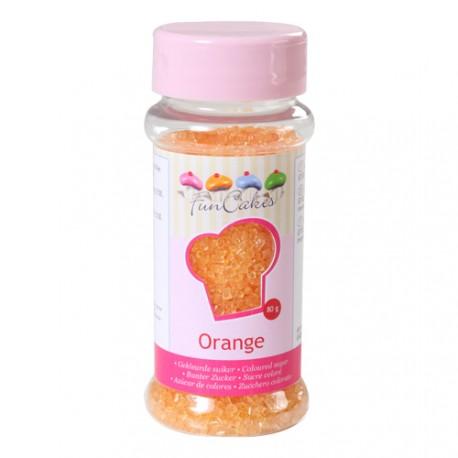 Sucre cristallisé orange