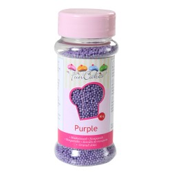 Mini billes en sucre violet