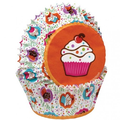 "75 Caissettes ""Cupcake party"""