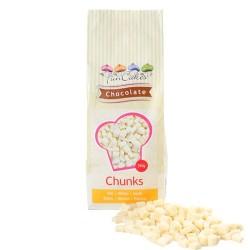 Grosses pépites de chocolat blanc (chunks) - 350 g